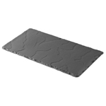 "Revol Chinaware 640605 - Basalt Rectangle Plate - 11.75"" x 6.25"""