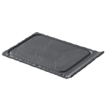 "Revol Chinaware 643602 - Basalt Mini Steak Plate - 4.5"" x 3.25"""