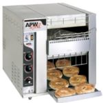 APW BT-15-3 - Commercial Radiant Conveyor Bagel Master Toasters