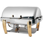 Smart Buffet Ware 1A1231BRC - Chafer - Full Size - Roll top Cover