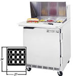 "Beverage Air SPE27-12M - Mega Sandwich Prep Table - One Door 27"" W"