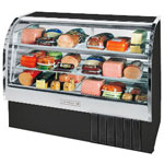 "Beverage Air CDR5/1-20 - 61"" Curved Glass Deli Display Case"
