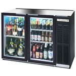 Beverage Air BB48GY-1-B - Back Bar Cooler - Two Glass Swing Doors