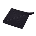 "Browne Halco 5442002 - Ultra Thick Hot Pad - 7"" Square - Black"