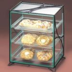 Cal-Mil 1501-13 - Bakery display Case - Green Glass Acrylic