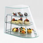 Cal-Mil 1505-3 -  Bakery Display Case - Three Tier Acrylic Green Glass