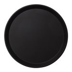 "Cambro 1600CT - 16"" Round Camtread Bar Serving Tray"
