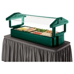5' Table Top Food Bar with Sneeze Guard - Cambro 5FBRTT
