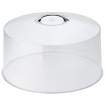 "Cambro RD1200CW - 12"" Round Clear Cake Cover - Polycarbonate"