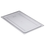 Cambro 10CWC135 - Food Pan Flat Cover - Full Size - Clear