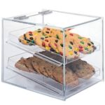 Gold Leaf BDT2LB - Clear Acrylic Bakery Case - Two Tier
