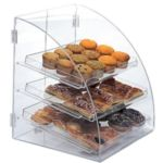 Gold Leaf BDT3EURO - Euro Curved Front Clear Acrylic Bakery Case