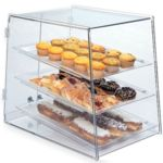 Gold Leaf BDT3X - Clear Acrylic Bakery Case - Three Tier