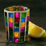 Sterno Candle Lamp 80280 - Votive Lamp Base - Mini Mosaic
