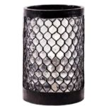 Sterno Candle Lamp 80222 - Black Beehive Pub Table Lamp