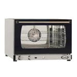 Cadco XAF-113 - Commercial Electric Convection Oven - Half Size