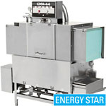 "EST-44L-R/L - 44"" Conveyor Commercial Dishwasher - Low Temperature"