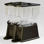 Carlisle 10853 - 3 Gallon Economy Double Drink Dispenser
