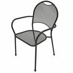 Plantation Prestige 2151100-04 - Barkley Metal Outdoor Dining Chair