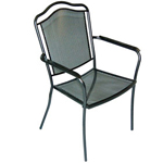 Plantation Prestige 2241100-0450 - Newport Metal Outdoor Dining Chair