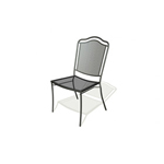Plantation Prestige 2240700 - 0450 Newport Metal Outdoor Side Chair