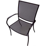 Plantation Prestige 2031100-04 - Manhattan Metal Outdoor Dining Chair