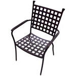 Plantation Prestige 2281100-04 - Vestavia Metal Outdoor Dining Chair
