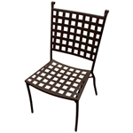 Plantation Prestige 2280700-04 - Vestavia Metal Outdoor Side Chair