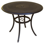 Plantation Prestige 2213000-01 - Solid Metal Cafe Table Top