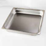 "Crestware 2332 - Food Hotel Pan - Two-Thirds Size Pan x 2-1/2"" Deep"