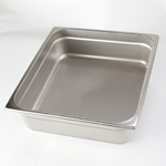 "Crestware 2334 - Food Hotel Pan - Two-Thirds Size Pan x 4"" Deep"