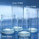 Encore 91009 - Odyssey 9 Oz. Hi-Ball Plastic Glasses