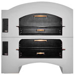 Marsal MB-60-STACKED - Pizza Oven - Double Deck - Brick Lined