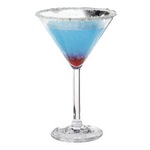 Get Enterprises SW-1407-CL - 10 Oz. Plastic Martini Glassware