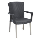 Grosfillex US903002 - Havana Classic Stacking Armchairs