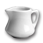 Hall China 193-7 - Empire Creamer - White - 2-1/2 Oz