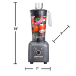 Hamilton Beach HBF500 - Commercial Food Blender