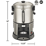 Hamilton Beach HCU045S - Coffee Maker - Percolator - 45 Cup