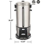 Hamilton Beach HCU110S - Coffee Maker - Percolator - 110 Cup
