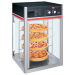Hatco FSDT-1 - Heated Glass Pizza Display Holding Cabinet