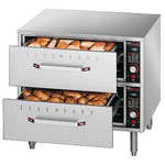 Hatco HDW-2 - Warming Drawer - Two (2) Drawer Warming Unit