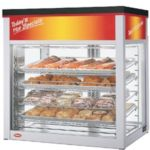 Hatco WFST-1X-CLEAR - Heated and Humidified Display Cabinet