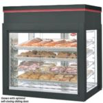 Hatco WFST-2X-BLACK - Heated Glass Display Cabinet -  Flavor-R-Savor