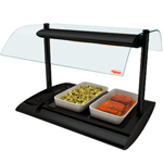 Hatco SRGBW-1 - Serv-Rite Portable Buffet Warmer - Black Glass