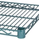 Wire Storage Shelving - Green Bond