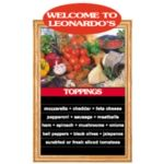 "19-1/16"" x 27-5/8"" Panel Complete Non-Illuminated Menu System 19VN"