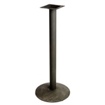 "Oak Street B24DISC-BAR - 24"" Round Table Base - 40-3/4"" Tall"
