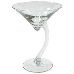 Libbey 7700 - 6-3/4 Oz. Bravura Martini Glass
