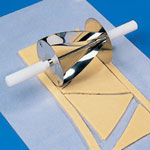 """Thermohauser 5000144775 - Croissant Cutter - 6"""" x 4-1/3"""""""
