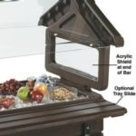 Carlisle 6620 - Four Foot Tray Slide for Six Star Food Bars